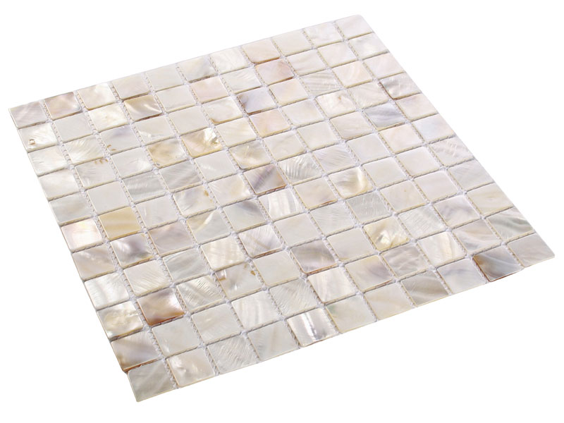 perlmutt mosaik fliesen shell white wei 25 x 25 x 2 mm ebay. Black Bedroom Furniture Sets. Home Design Ideas