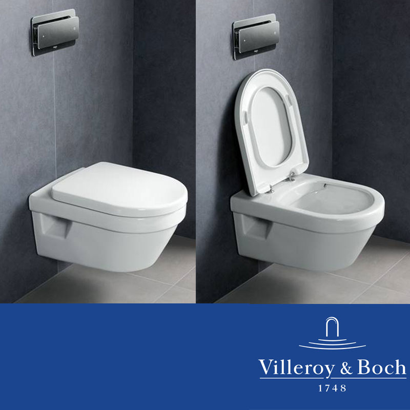 villeroy boch omnia architectura wand wc directflush ohne sp lrand ebay. Black Bedroom Furniture Sets. Home Design Ideas