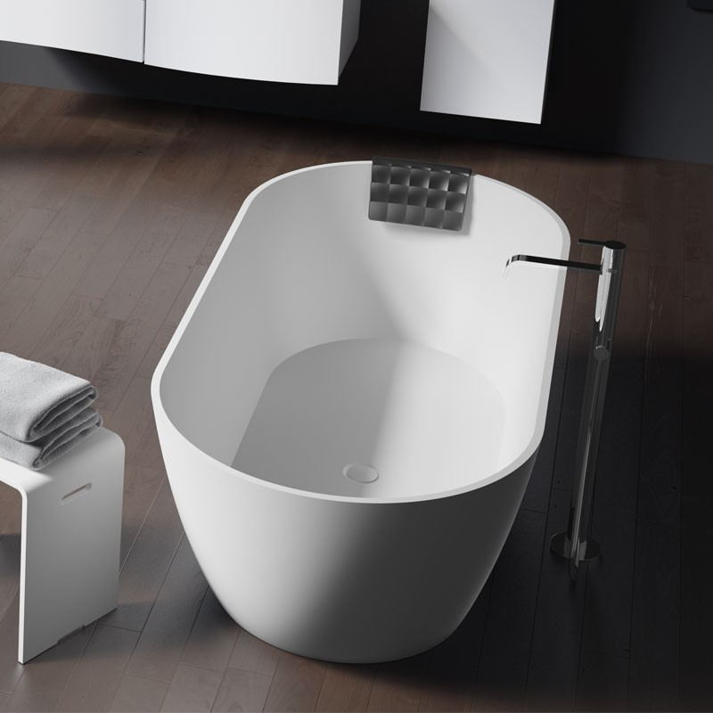 riho bilbao solid surface badewanne 170 x 80 x 55 5 cm. Black Bedroom Furniture Sets. Home Design Ideas