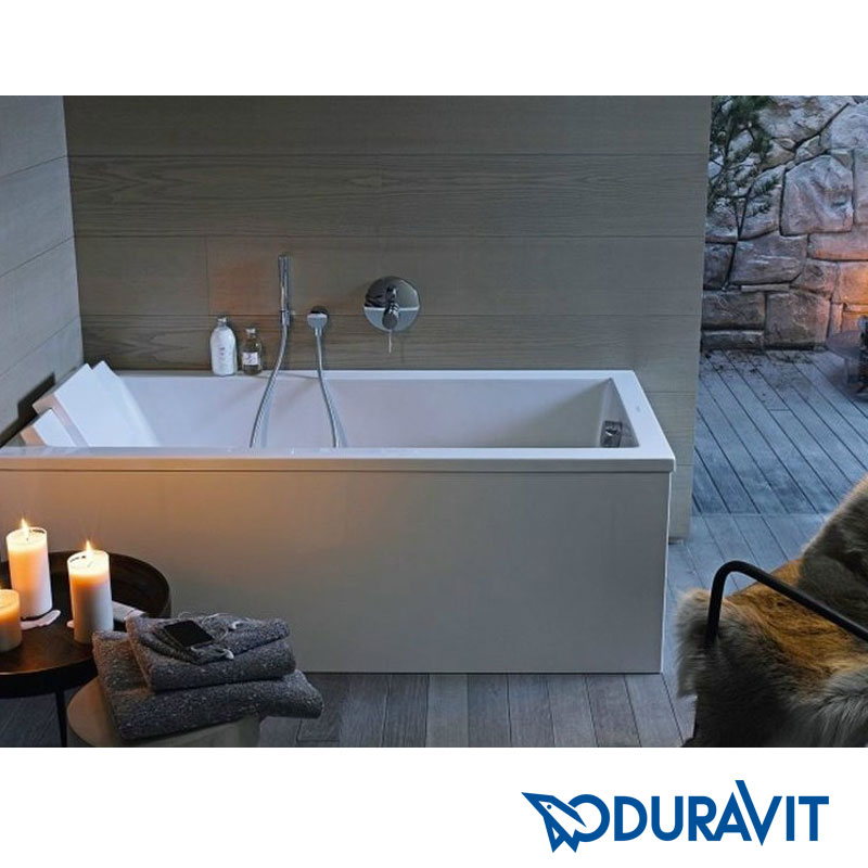duravit starck badewanne rechteck einbauversion hardys24. Black Bedroom Furniture Sets. Home Design Ideas