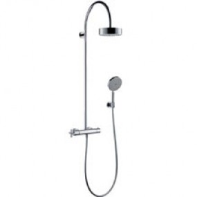 Hansgrohe Axor Citterio Showerpipe mit Thermostat