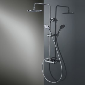 HSK RS 200 Mix Shower-Set Rund, flach, Ø 250 mm