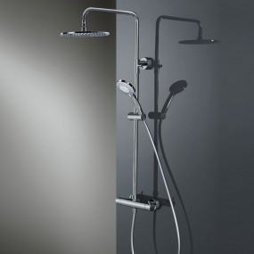 HSK RS 200 Thermostat Shower-Set Rund, flach, Ø 400 mm