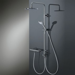 HSK RS 200 Universal Shower-Set Rund, super flach, Ø 300 mm