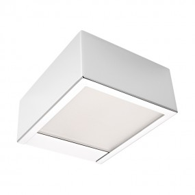 Linear Square LED Wandleuchte 10 x 12 x 5 cm 230 V chrom