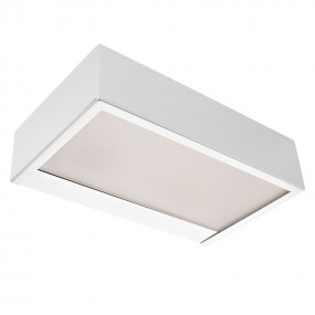 Linear Square LED Wandleuchte 20 x 12 x 5 cm 230 V chrom