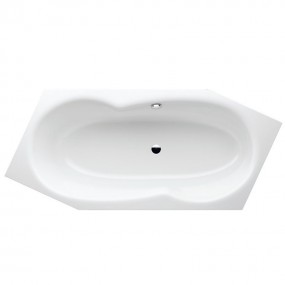 Bette METRIC Sechseck Badewanne 206 x 90 x 45 cm Links