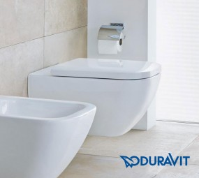 Duravit Happy D.2 Wand-WC rimless