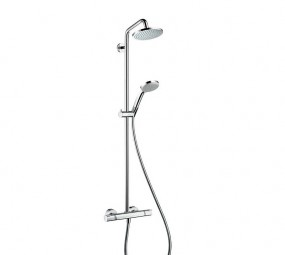 Hansgrohe Croma 160 Showerpipe mit Brausearm 270 mm DN15